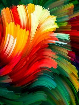 Obraz Virtual Life of Color