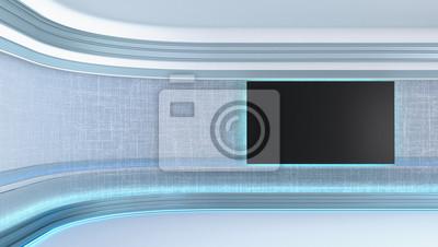 Obraz Virtual tv studio