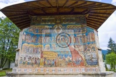 Voronet, malowane klasztoru w północnej Rumunii