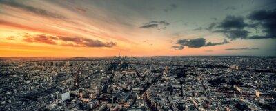 Obraz Vue panoramique de Paris