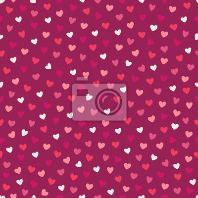 Walentynki wzór z serca