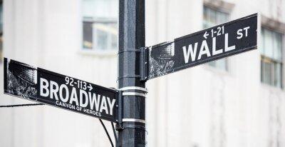 Obraz Wall street