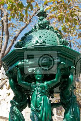 Wallace fontanna szczegół, Paris