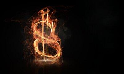 Obraz Waluta koncepcyjnego obrazu