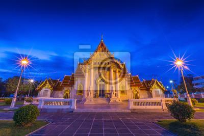 Wat Benjamaborphit lub Marble Temple