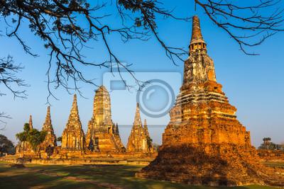 Wat Chaiwatthanaram, świątynia w Ayutthaya