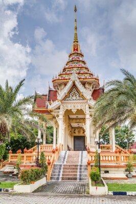 Obraz Wat Chalong i Wat Chaiyathararam, Kata, Phuket, Tajlandia