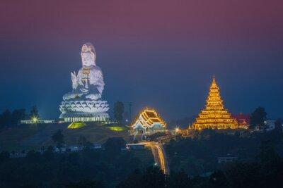 Wat Huay Pla Kang, Chińska świątynia w Chiang Rai.