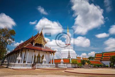 Wat Mahathat świątyni, Nakhon Si Thammarat, południowej Tajlandii