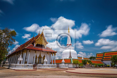 Wat Mahathat świątynia, Nakhon Si Thammarat, południowej Tajlandii