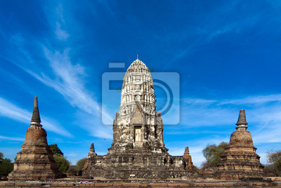 Wat Racha Burana, Ayudhya Province, Tajlandia