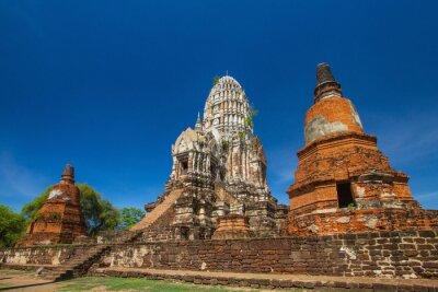 Wat Rat Burana starożytny Ayutthaya period.Thailand