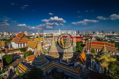 Wata Pho Buddyjska świątynia w Bangkok, Tajlandia