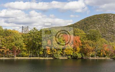 Wczesna jesień na jeziorze Hesji