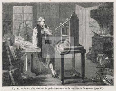 Obraz Wczesne badania silnika Newcomena. Data: 1764