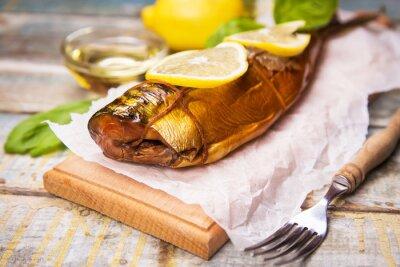 Obraz wędzona ryba