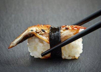 Obraz Węgorz sushi