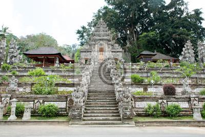 Wejście Pura Kehen świątyni, Mandir w Bali, Indonezja.
