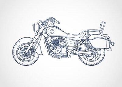 Obraz Wektor Harley-Davidson