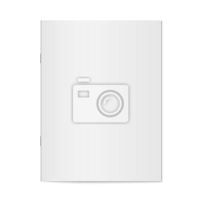 Obraz Wektor makiety foldera izolowane.