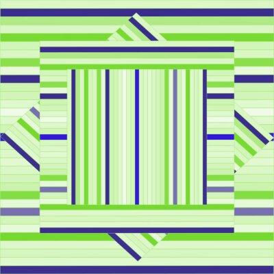 Obraz Wektor wzór z wyłożonych kwadratów. Streszczenie fioletowe tekstury. Geometryczne tła. Monochromatyczne tło. Szablon Tile.