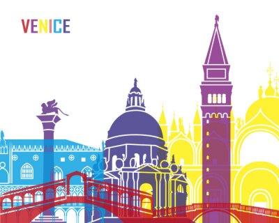 Obraz Wenecja skyline pop