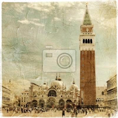 Wenecja - wielki włoski rocznika zabytki series