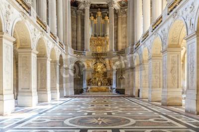 Obraz Wersal Francja - 20 czerwca wnętrza pałac w Wersalu, Wersal, Francja 20 czerwca 2014 r Palace Versailles był Royal Chateau-najpiękniejszy pałac we Francji i słowa.