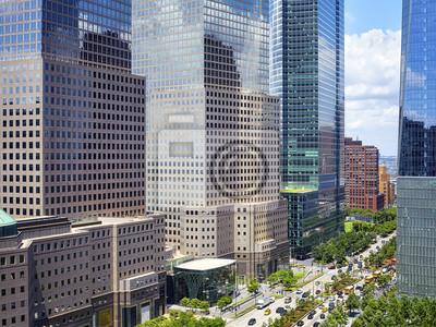 West Street, część West Side Highway znana również jako Joe DiMaggio Highway, Nowy Jork, USA