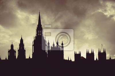 Westminster Palace sylwetka