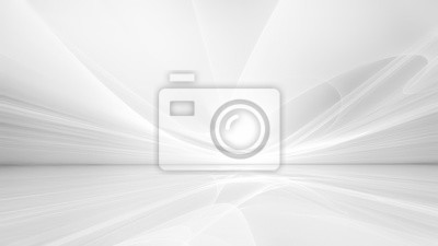 Obraz white futuristic background