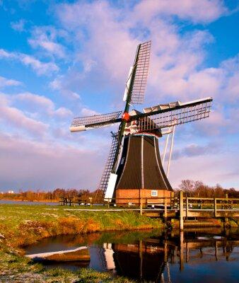 Obraz Wiatr Mill Holandia