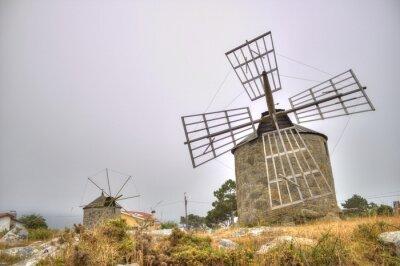 Obraz Wiatraki w Portugalii (HDR)