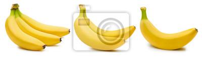 Obraz Wiązka banany odizolowywający