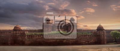 Obraz Widok Delhi Fortecy