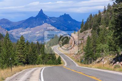 Widok Gór Montana, USA