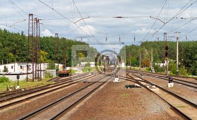 Widok na dworzec kolejowy