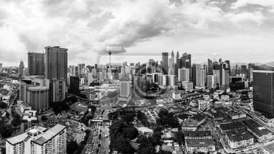 Widok na panoramę Kuala Lumpur