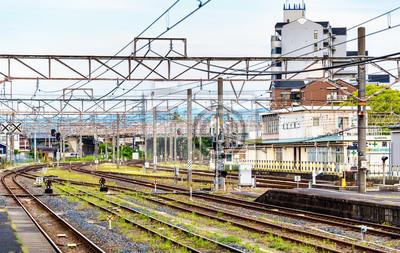 Widok Oji stacji w Nara