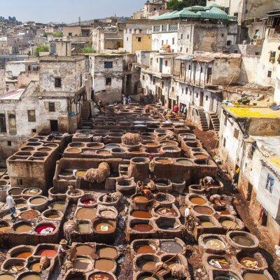 Obraz Widok starej medyny w Fezie