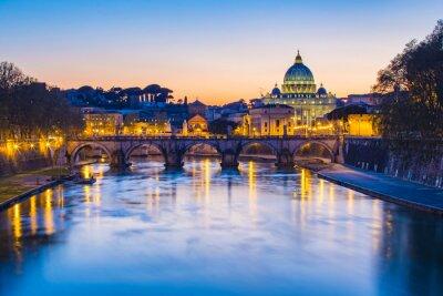 Obraz Widok Watykan z Rzymu