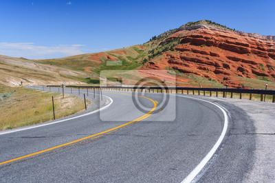 Widok Wyoming, USA