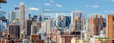 Obraz Widok z lotu ptaka Upper East Side, Nowy Jork, USA