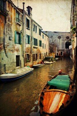 Obraz Widok z mostu - Wenecja