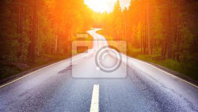 Obraz Wiejska droga
