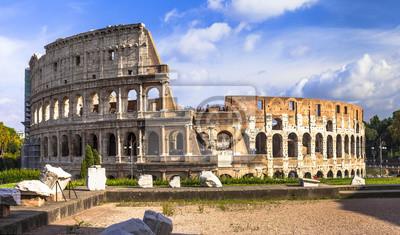 wielka Koloseum. Rzym. Włochy