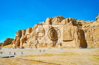 Wielka nekropolia w Naqsh-e Rustam, Iran