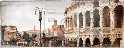 wielki antyczny Rzym - zdjęcia archiwalne