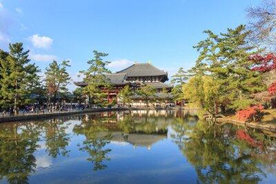 Wielki Budda Hall w Todai-ji w Nara
