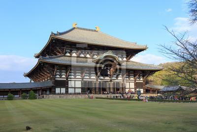 Wielki Budda Hall w Todai-ji w Nara, Japonia